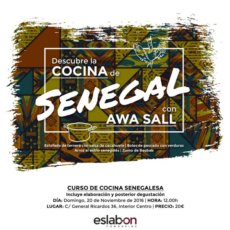 curso y degustación de cocina senegalesa en Carabanchel