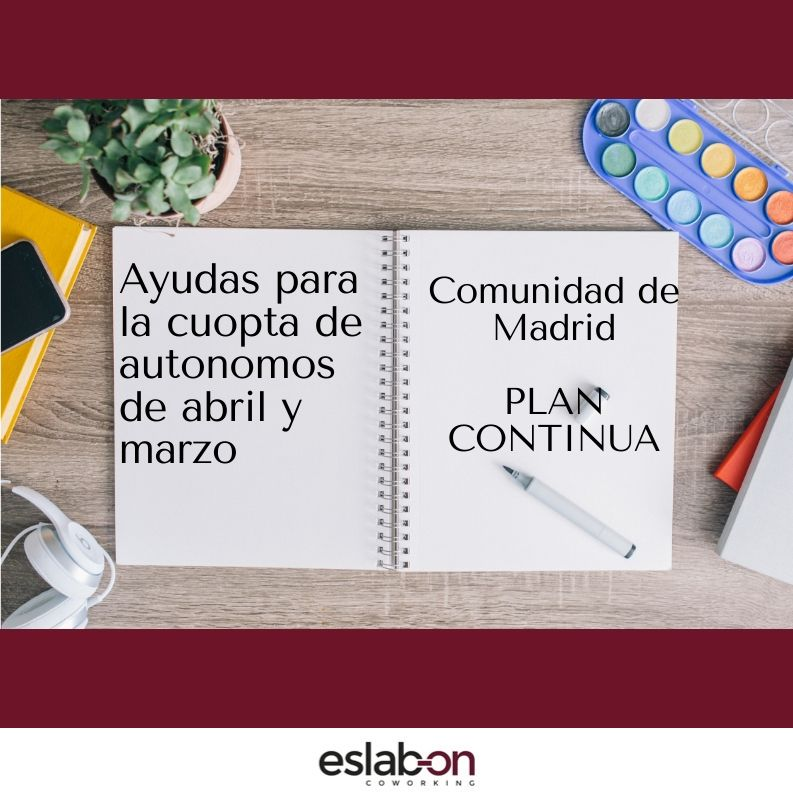 AYUDA PLAN CONITUNA CUOTAS MARZO Y ABRIL AUTONOMOS MADRID